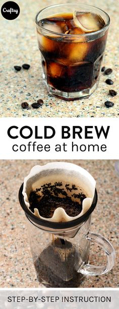 Cold brew coffee is trendy and tasty. Make this drink the night before so your Mother's Day brunch guests won't have to wait for the next coffee pot.