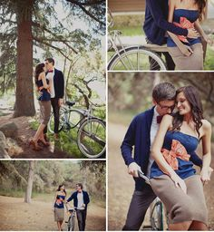 engagement pictures. LOVE.