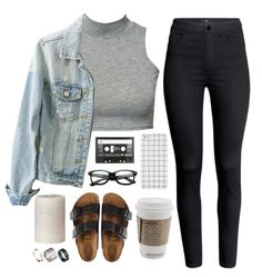 Causal outfit with Birkenstocks.