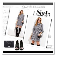 """""""shein"""" by tontopxx ❤ liked on Polyvore"""