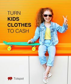 Totspot is America's favorite resale shopping app for kids' clothes. Sell  the kids' outgrown clothes and earn cash.