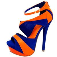 Bears colors- shoes I wouldn't have to hide!!