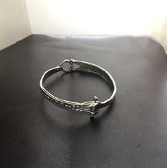 Badass elegance in a hinged bracelet. #badasselegance #badassbracelet #gooddesign #camillehempeljewelry