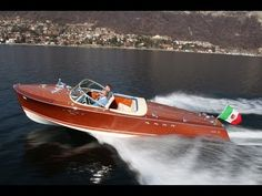 Riva Tritone Special Cadillac from Motor Boat & Yachting