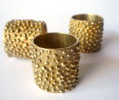 Boulle bronze ring by Fourth Crusade : Italian hand made jewellery