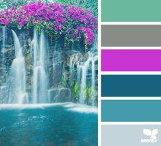 colour escape : Design Seeds. Love this colour combination.