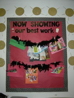 Cute Art Bulletin Board