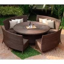 Best Outdoor Dining Room Sets Blackhomeco Throughout Patio Dining Tables And Chairs Designs Square Patio Table, Round Outdoor Dining Table, Dining Set With Bench, Dining Room Bench Seating, Diy Outdoor Table, Patio Dining, Dining Sets, Dining Rooms, Dining Tables