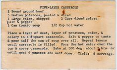 Five-Layer Casserole