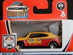 Model Matchbox Pontiac Piranha