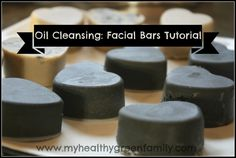 (My Healthy Green Family) Oil Cleansing Facial Bar Tutorial: Soap-Free! - My Healthy Green Family - try this weekendOil Cleansing Facial Bar Tutorial: Soap-Free! - My Healthy Green Family - try this weekend Belleza Diy, Tips Belleza, Diy Spa, Facial Bar, Facial Scrubs, How To Make Oil, Homemade Beauty Products, Natural Products, Lotion Bars