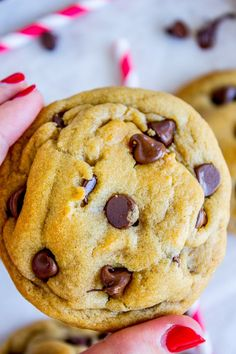 Brown Butter Chocolate Chip Cookies (and I had a baby!) - The Food Charlatan                                                                                                                                                                                 More