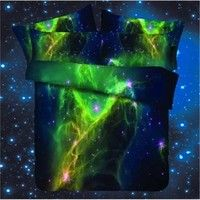 Buy Galaxy bedding sets Space bedding set Universe Bedding Set Galaxy Duvet Cover Set Queen Size/Twin size at Wish - Shopping Made Fun