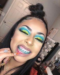 Makeup Looks Ashy Makeup Vanity Case! Makeup On Fleek, Flawless Makeup, Cute Makeup, Gorgeous Makeup, Makeup Inspo, Makeup Goals, Makeup Inspiration, Beauty Makeup, Cute Braces Colors