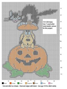 HALLOWEEN PLUTO by DESIGNS BY @NDREA -- WALL HANGING