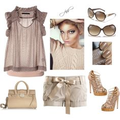 Nearly Nude, created by jill-hammel on Polyvore