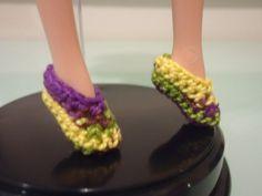 Barbie Ballet Flats (Free Crochet Pattern)