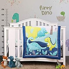 """Perfect for your Baby and Nursery FlySheep 3 Piece Crib Bedding Set-2,FlySheep 3 Piece Crib Bedding Set-2, OEKO-TEX 100 certified, premium quality microfiber, ultra soft and comfortable touch. WHAT YOU CAN GET - The 3-piece crib bedding set perfect measures 28"""" x 52"""" crib mattress. Includes 1 crib fitted sheet (52"""" x 28"""" x 8"""" deep pocket, Crib mattress NOT included), a 32"""" x 42"""" quilted comfort..."""