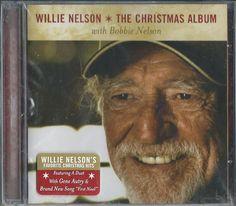 The Christmas Album by Willie Nelson (CD, YMC Records) #ProgressiveCountry