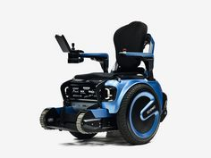 scewo is a self-balancing wheelchair that can go up and down the stairs independently and smoothly.  this innovation offers people a dynamic experience for navigating over obstacles with multiple rubber tracks offering a smooth and safe ride on the stairs.