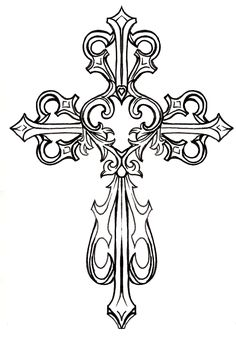 ornate cross with heart tattoo by metacharis on deviantart inside of wrist