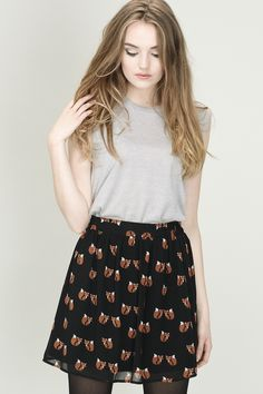 Foxy skirt from Sugarhill Boutique