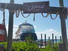 It's beautiful There ❤️ Disney Hotels, Disney Vacations, Best Cruise, Cruise Vacation, Castaway Cay, Disney Cruise Line, Places Ive Been, Cruises, Luxury