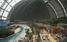 Tropical Island Resort Krausnick - Germany - read more http://destinations-for-travelers.blogspot.com.br/2013/03/resort-tropical-artificial-em-krausnick-alemanha.html
