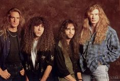 countdown to extinction Heavy Metal Music, Heavy Metal Bands, 80s Big Hair, Countdown To Extinction, Marty Friedman, Dave Mustaine, Live Rock, Band Photos, Thrash Metal