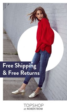 Outfit yourself from head-to-toe with luxe apparel that captures fall's trending styles. A whimsical balloon sleeve sweater and skinny jeans with unfinished hem pair perfectly for a look that can take you from work to weekend. Shop Topshop at Nordstrom today.