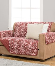 This Kingston Marsala Red Stain-Resistant Furniture Cover is perfect…