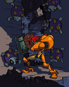 Metroid by oh8 on DeviantArt