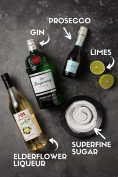Gin And Prosecco Cocktail, Signature Cocktail, Cocktail Drinks, Coffee Drink Recipes, Alcohol Drink Recipes, Coffee Drinks, Holiday Cocktails, Craft Cocktails, Summer Cocktails