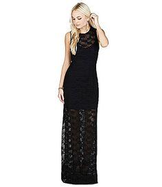 BCBGeneration LaceOverlay Maxi Dress #Dillards