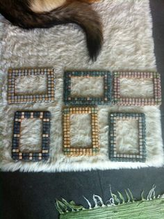 Marble Mosaic Frame by Ursula Huber
