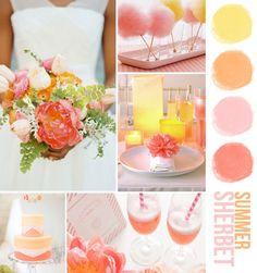 summer sherbet colors