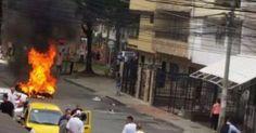 osCurve   Contactos : En Guayabal la comunidad le prendió fuego a 2 moto...