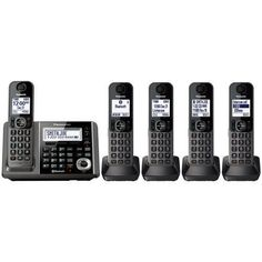 Cordless Telephones and Handsets: Panasonic Kx-Tg585sk Cordless Telephone W Digital Answering Machine And Bluetooth -> BUY IT NOW ONLY: $79.99 on eBay!