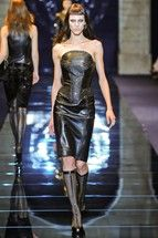Yet more leather at Versace