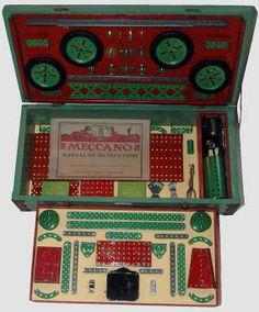 Erector Set, Meccano Set and other Construction Toys for sale. Model of the Month, Spare Parts, and Ephemera. Dozen, Army Clothes, Hobby Toys, Car Set, Deep Space, Model Building, Toy Sale, Antique Toys, Motor Car