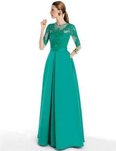 vestido-largo-color-turquesa.jpg (500×649)