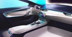 Škoda VISION C on Behance