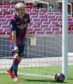 Niall at Camp Nou Barcelona