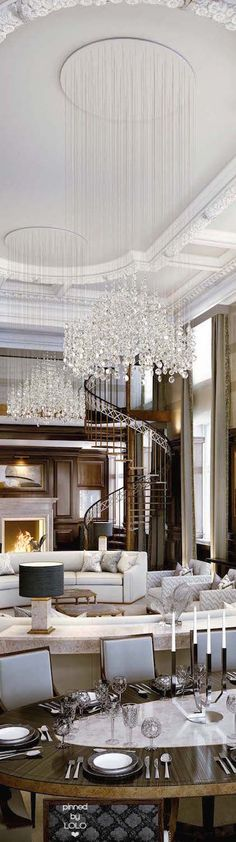 Luxury home archives - page 4 of 11 - luxury home decor dining chandelier, chandelier Dining Chandelier, Chandelier In Living Room, Living Room Lighting, Chandeliers, Chandelier Ideas, Luxury Home Decor, Luxury Interior, Home Interior Design, Design Living Room