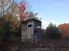 Hunting blind in Mesick, Michigan, USA.  Contributed by Lisa...