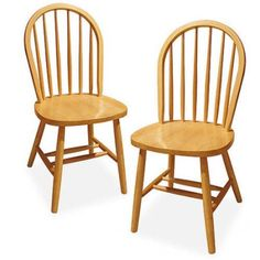 Free Shipping. Buy Windsor Chair, Set of 2, Multiple Finishes at Walmart.com