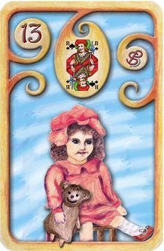 Baralho Cigano – A Criança - Carta 13 - Linha das Águas