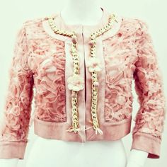 Rose jacket Sonia Fortuna Spring Summer 2014 Collection