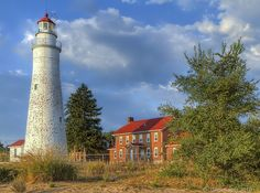 One of these days, the Fort Gratiot Lighthouse, oldest in Michigan, will be open to visitors. It's being restored. The Thumb has many lighthouses to see.