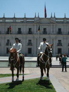 Guardia de Palacio - Carabineros de Chile